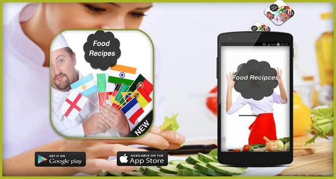Quick Food Recipes -Over World screenshot 5