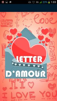 Lettres D'amours SMS apk screenshot