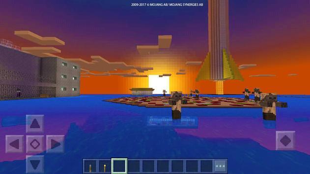 """ Rock prison "" map for MCPE Craft! screenshot 6"