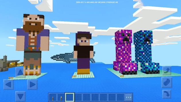 """ Rock prison "" map for MCPE Craft! screenshot 1"