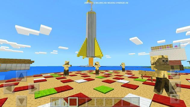 """ Rock prison "" map for MCPE Craft! screenshot 20"