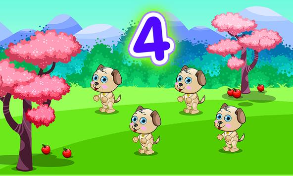 Game for kids - counting 123 poster
