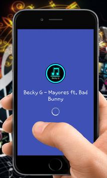 Becky G - Mayores (Ft. Bad Bunny) poster
