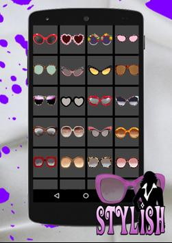STYLISH Sunglasses Sticker poster