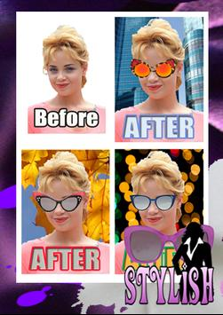 STYLISH Sunglasses Sticker apk screenshot
