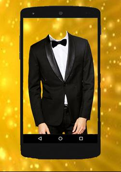 SMART MAN Suit Photo Stickers apk screenshot
