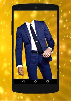 SMART MAN Suit Photo Stickers poster