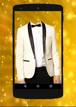 SMART MAN Suit Photo Stickers screenshot 1