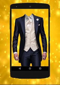 SMART MAN Suit Photo Stickers screenshot 2