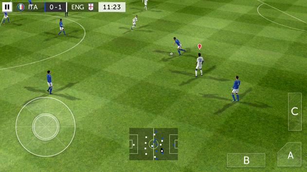 First Touch Soccer 2015 capture d'écran 1