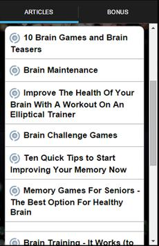 Fit Brain Trainer Special screenshot 2
