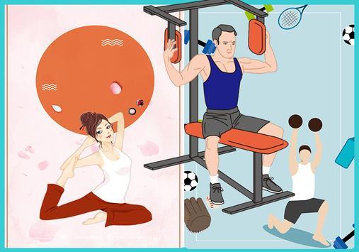 رياضة كمال الأجسام poster