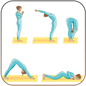 Fitness at home icon