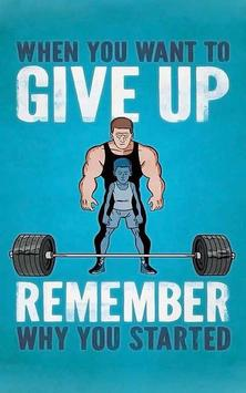 motivation bodybuilding coach poster