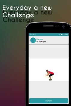 30Day Burpee Workout Challenge screenshot 3