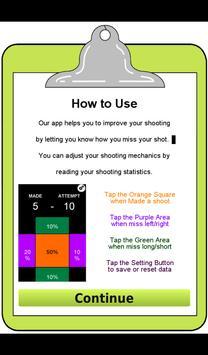 Basketball Shooting Assistance screenshot 2