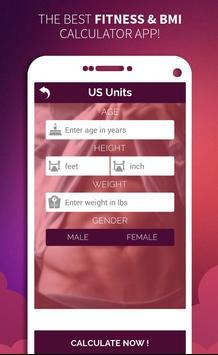 Easy Fitness & BMI Calculator apk screenshot