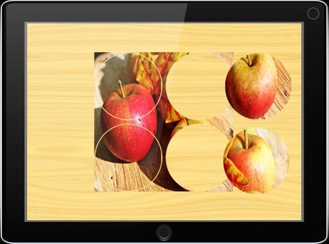 Пазлы для детей: фото фруктов apk screenshot