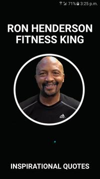 Fitness King Quotes poster
