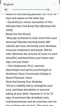 15 Best Workout Tips of All Time screenshot 3
