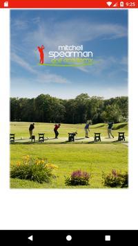 Mitchell Spearman Golf poster
