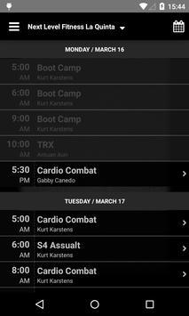 Next Level Fitness La Quinta apk screenshot