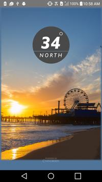 34 North poster