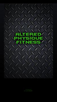 Altered Physique Fitness poster