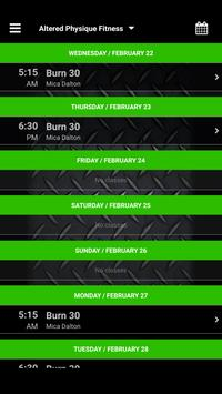 Altered Physique Fitness screenshot 2