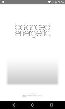Balanced Energetic poster