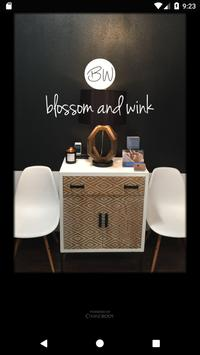 Blossom and Wink poster