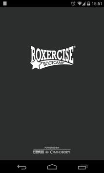 Boxercise Bootcamp poster