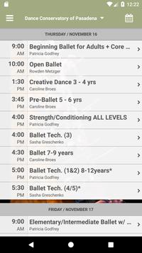 Dance Conservatory of Pasadena apk screenshot