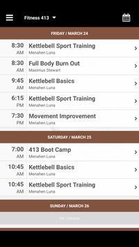 Fitness 413 apk screenshot