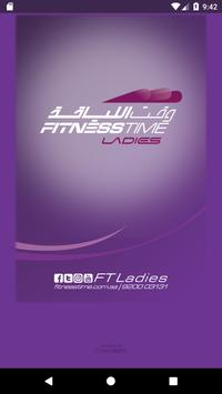 Fitness Time Ladies poster