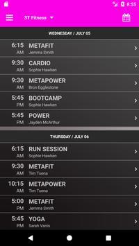 3T Fitness Bendigo apk screenshot
