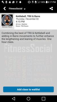 FitnessSocial screenshot 2