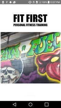 Fit First Personal Fitness poster