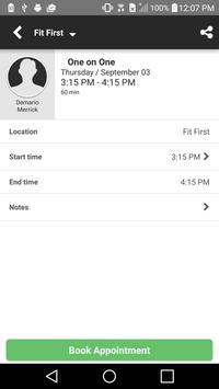 Fit First Personal Fitness apk screenshot