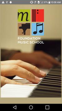 Foundation Music School App poster