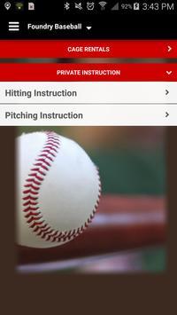 Foundry Baseball- Redwood City screenshot 2
