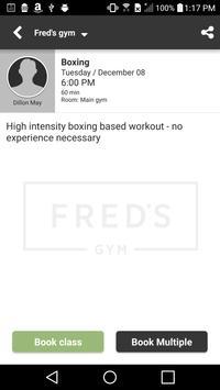 Fred's gym screenshot 2