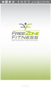 FreeZone Fitness poster