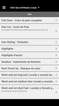 Glam Spa and Beauty Lounge screenshot 2