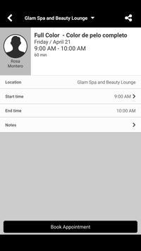 Glam Spa and Beauty Lounge screenshot 3