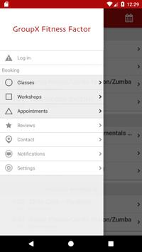 GroupX Fitness Factor apk screenshot