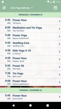 Grow Yoga apk screenshot