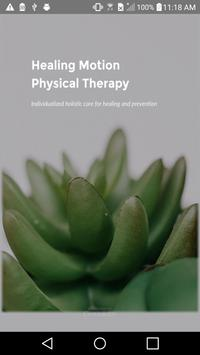 Healing Motion PhysicalTherapy poster