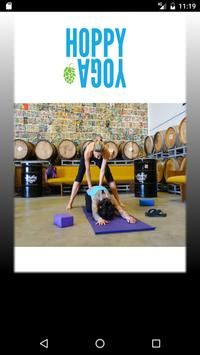 Hoppy Yoga poster