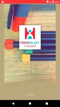 Hour Blast Elmwood poster